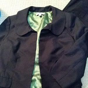 Caslon black cropped jacket